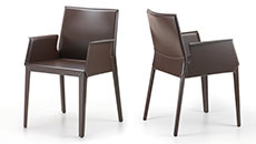 leather and eco-leather chairs