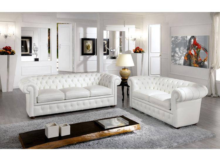 Divani poltrone pouf e letti divano chester - Divano letto chester ...
