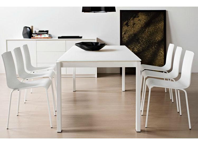 Tavoli tavolo baron cb 4010 mv 130 allungabile piano for Tavoli lunghi