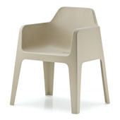 plus 630 armchair stackable