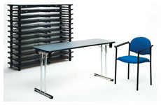 fast 75 folding table h.74cm