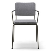caffe armchair stackable