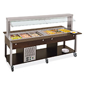 hot-cold buffet trolley 6920.6f3m