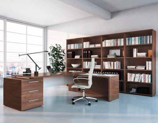 Libreria Ufficio Wenge : Arredo ufficio libreria bibliothèque 4 colonne furlani.it