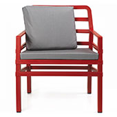 aria armchair with cushions