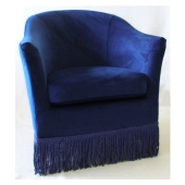 nicoletta armchair with fringes