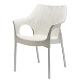 olimpia armchair stackable