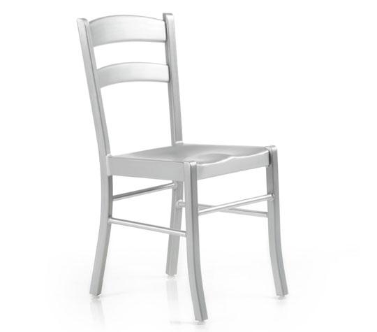 Sedie sedia kore alluminio for Sedie in alluminio