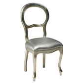 luigi filippo s230 chair silver leaf