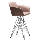flaminio stool with arms