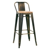 1079 stool antique look