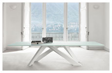 tavolo big table tv 01 piano cristallo