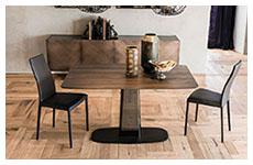 Tavoli In Legno E Vetro : Tavoli tavoli soggiorno in legno e vetro furlani