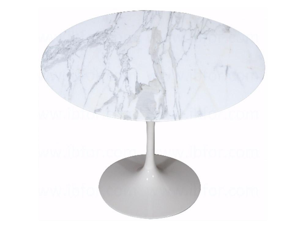 Tavolo Saarinen Marmo : Tavolo saarinen e t Ø cm marmo