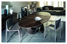 oracle table-emily chair-crazy-diamond sofa-aura sideboard-blob lamp-armonia side table