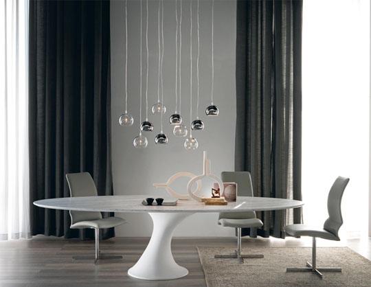 Tavolo Ovale Bianco : Catalogo cattelan: tavolo reef furlani.it