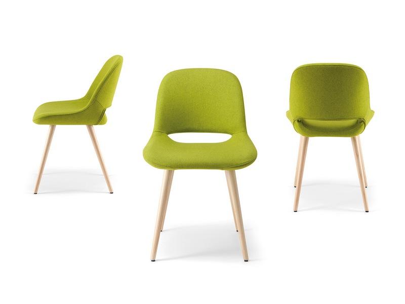 Sedia Ufficio Verde Mela : Sedie sedia ma b furlani