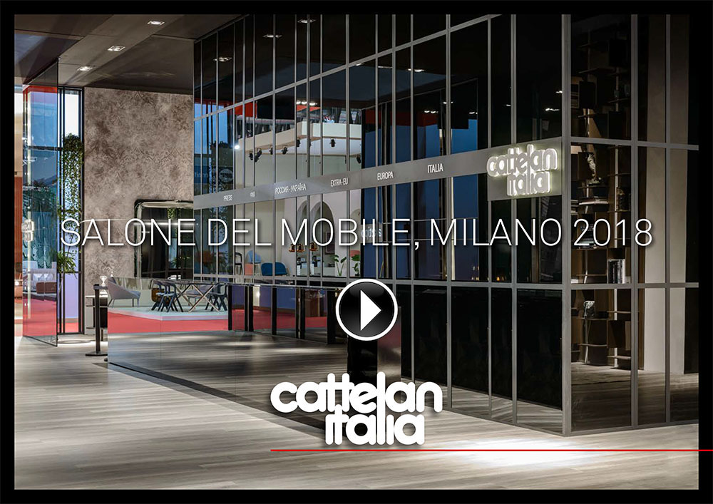 video salone del mobile 2018: cattelan
